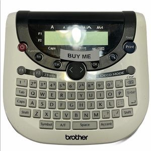 Brother P-Touch Label Maker Model #PT-1290 works